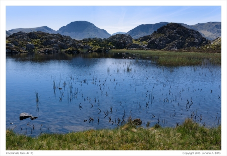 Innominate Tarn. (Click on the photo for added detail.)